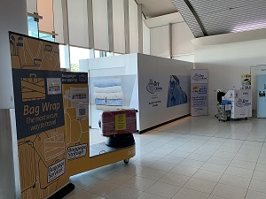 Perth Airport Dry Cleaning Wrapping Smarte Carte Terminal 4